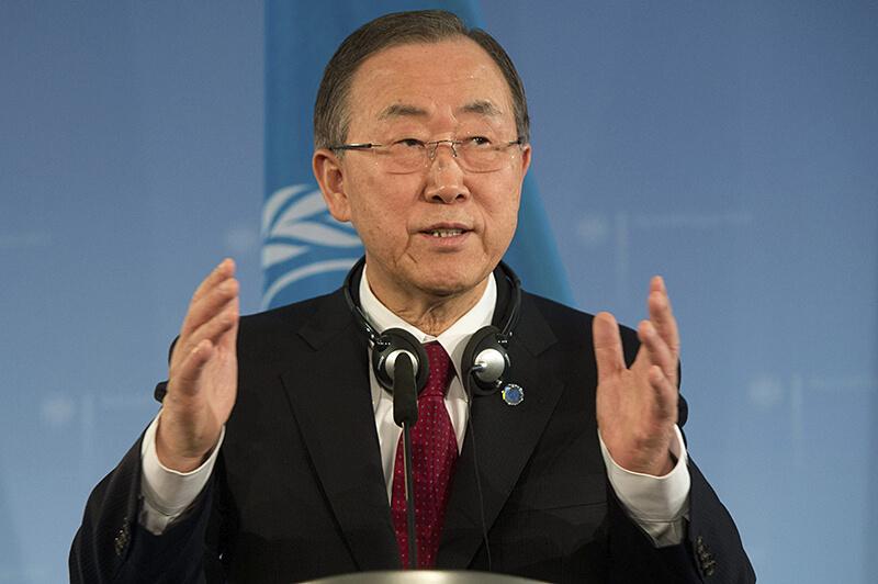 Ban Ki Moon Secretario general ONU