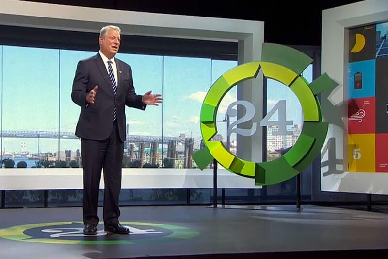 Al Gore 24 Horas de concientización