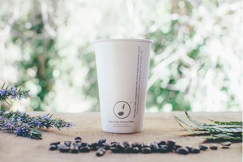 Café para reforestación