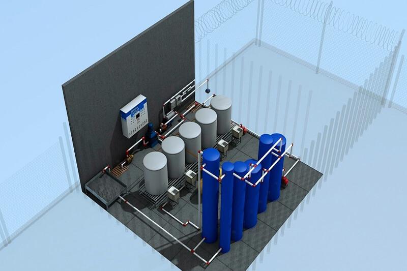 Sistema PQUA convierte en agua potable el agua de mar y residuales.