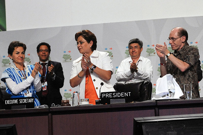 Patricia Espinosa Cumbre Cancún