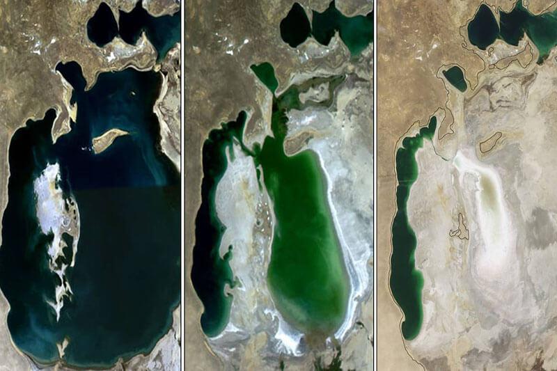 Mar Aral NASA