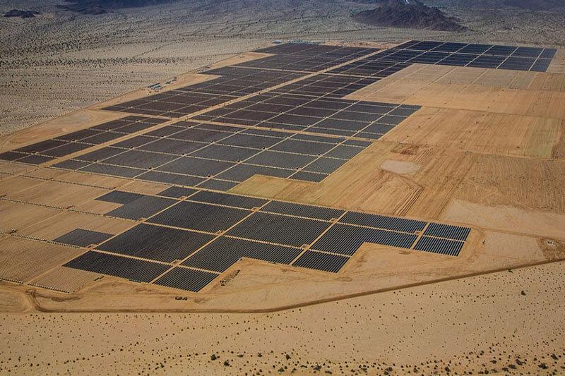 Granja solar Sudáfrica