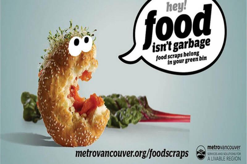 Comida no es basura