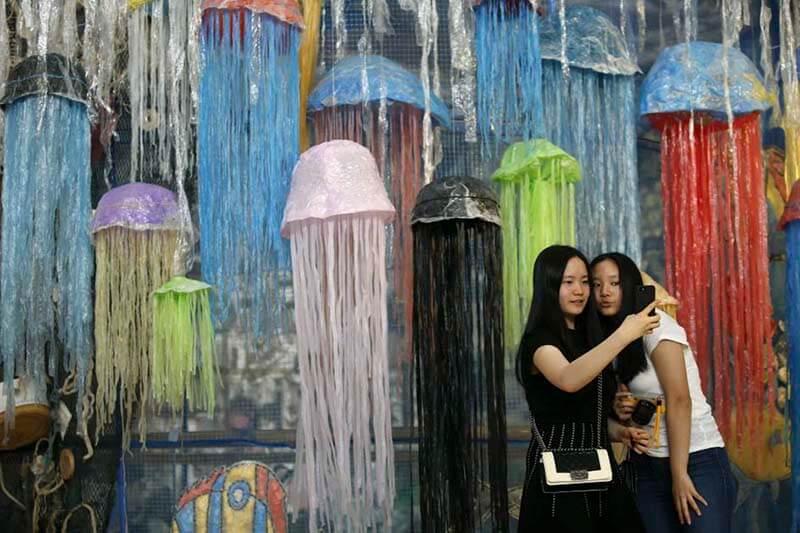 Arte reciclado Tailandia