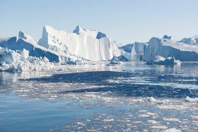 Deshielo en Polo Norte