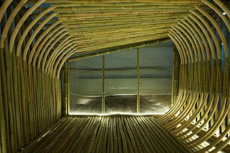 Viviendas bambú Hong Kong