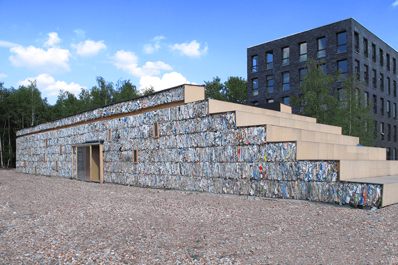 Edificio papel Dratz