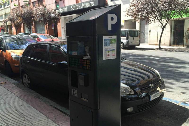 Parquímetro Madrid
