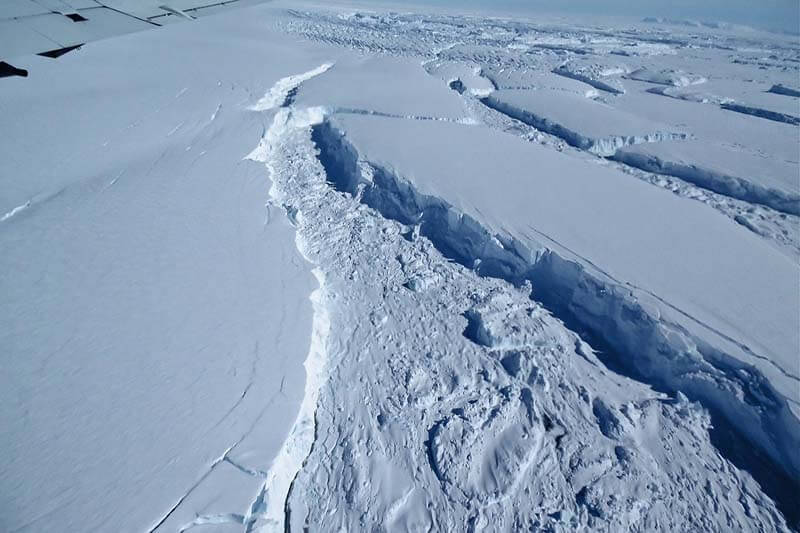 Antártida se derrite