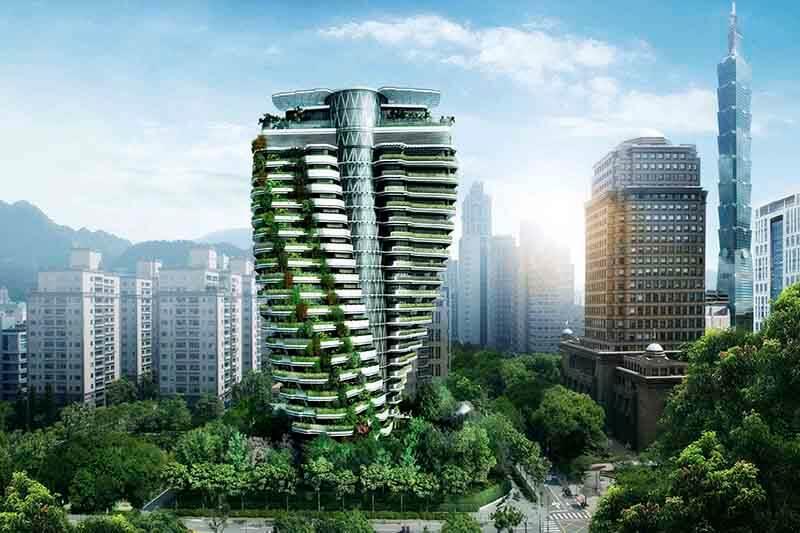 Edificio en Taiwán