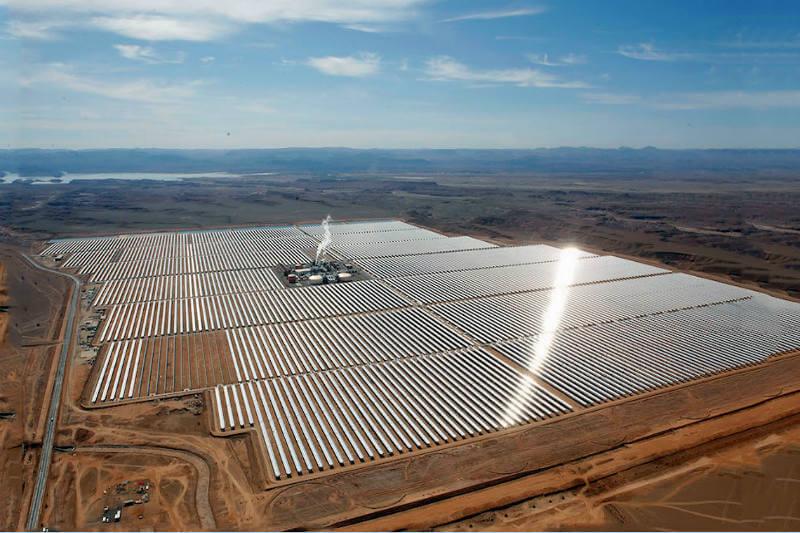 Planta solar en Marruecos
