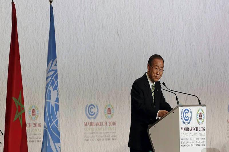 Ban Ki Moon calentamiento global