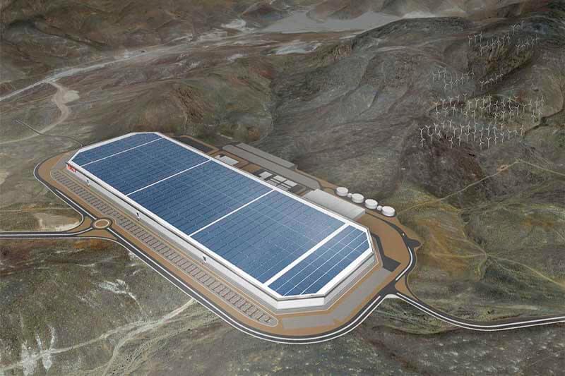 Mega Fábrica Tesla