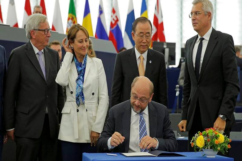 Acuerdo Paris entra en vigencia