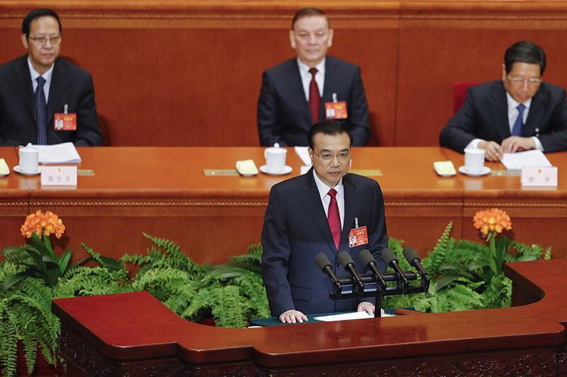 Li Keqiang Congreso Nacional del Pueblo