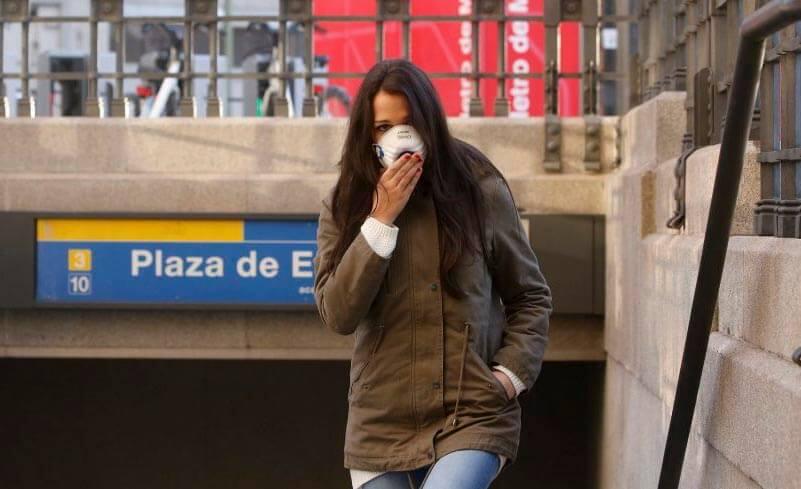 España contaminación