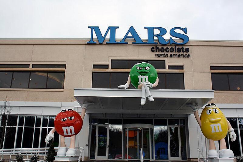 Mars Inc rechaza a Trump