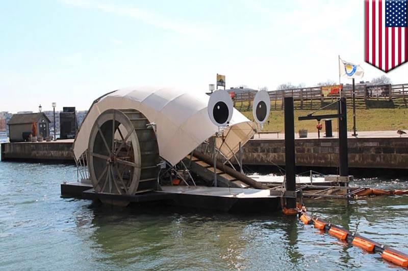 Mr Trash Wheel Baltimore