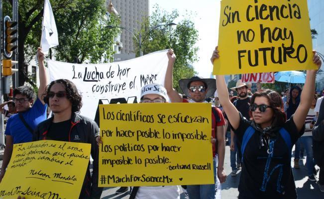 Marcha Ciencia México