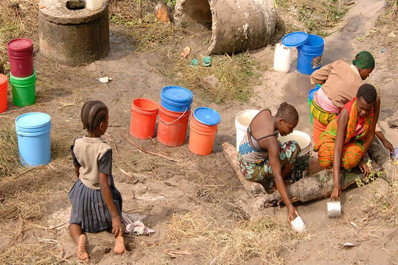 Agua sucia enfermedades