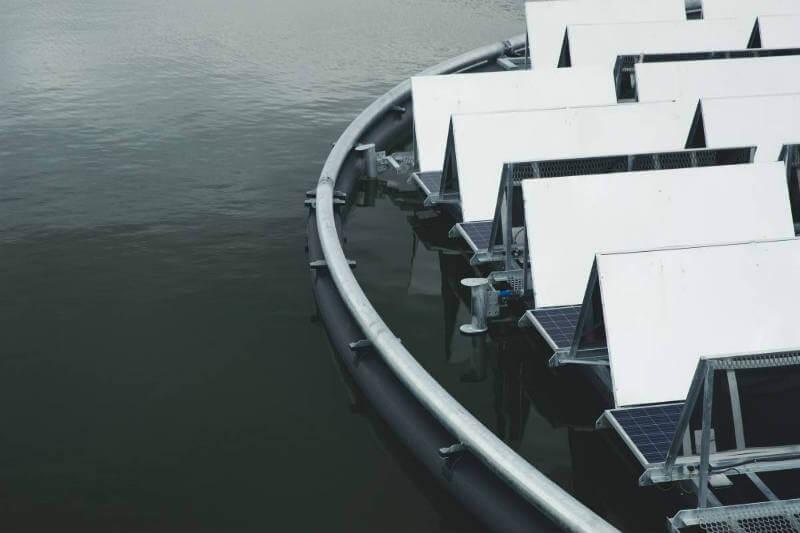 Australia aguas residuales/energía solar