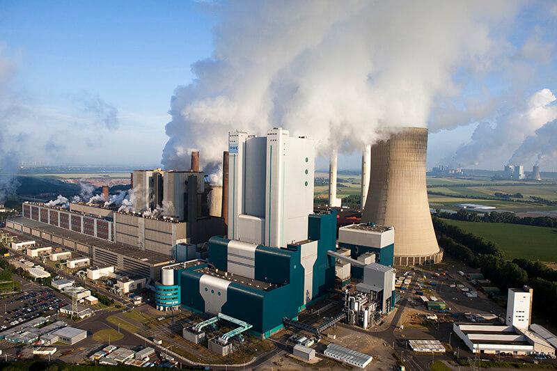 Planta de Carbón Europea