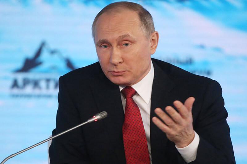 Putin en Ártico