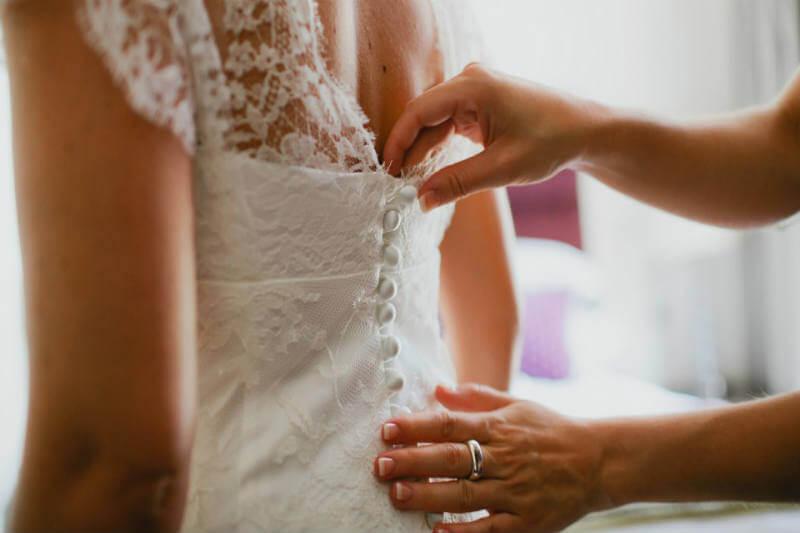 Vestido de novia biodegradable