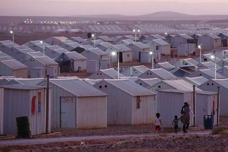 Azraq, Campo Refugiados