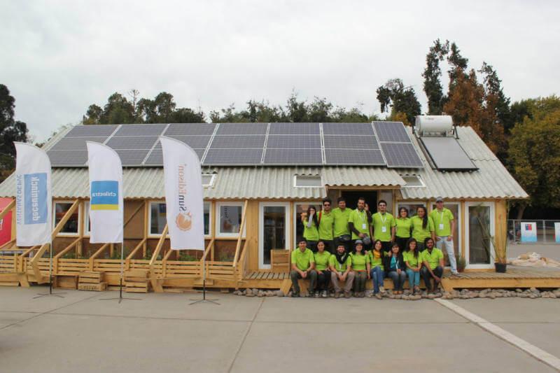 Construye Solar villa sustentable Chile