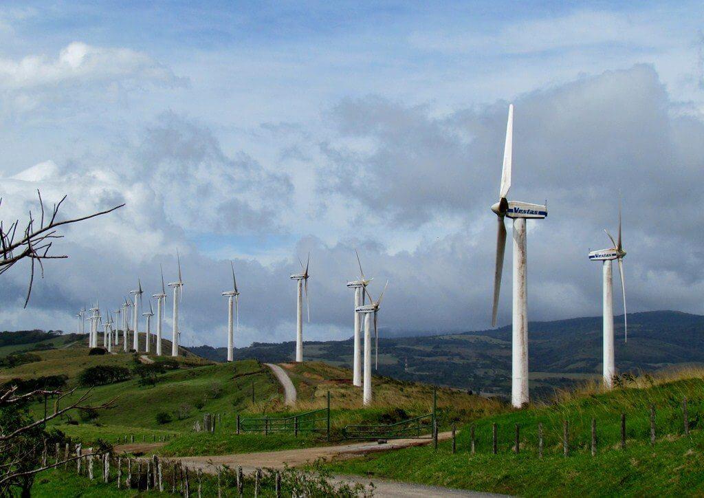 Costa Rica energía de fuentes renovables
