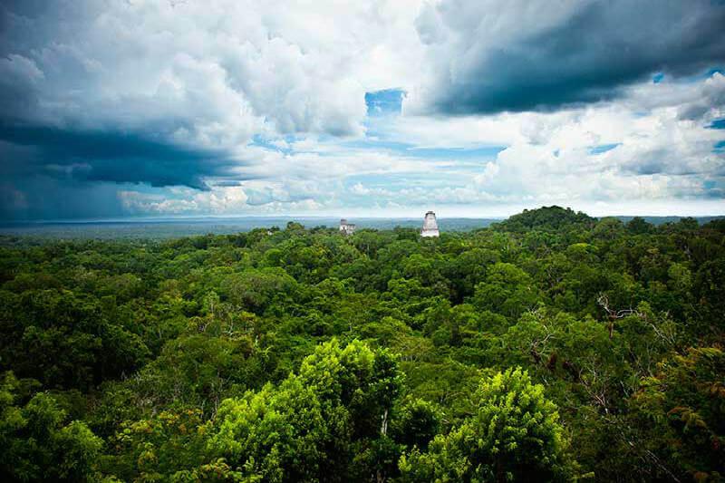 Deforestación en Guatemala