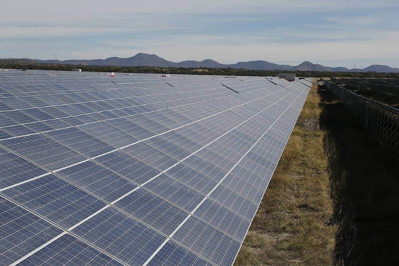 Durango producción de energía solar