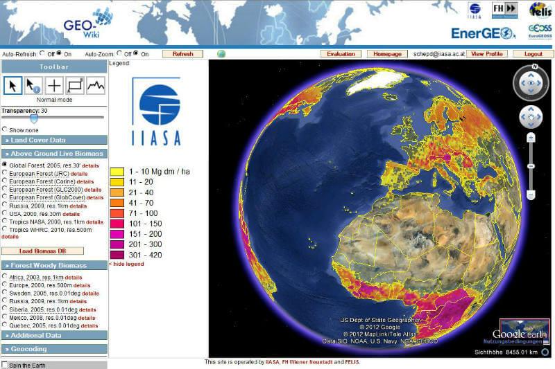 Mapamundi Geo-Wiki