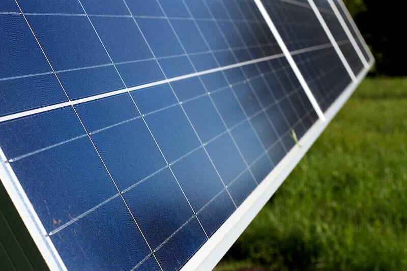 Paneles solares en California