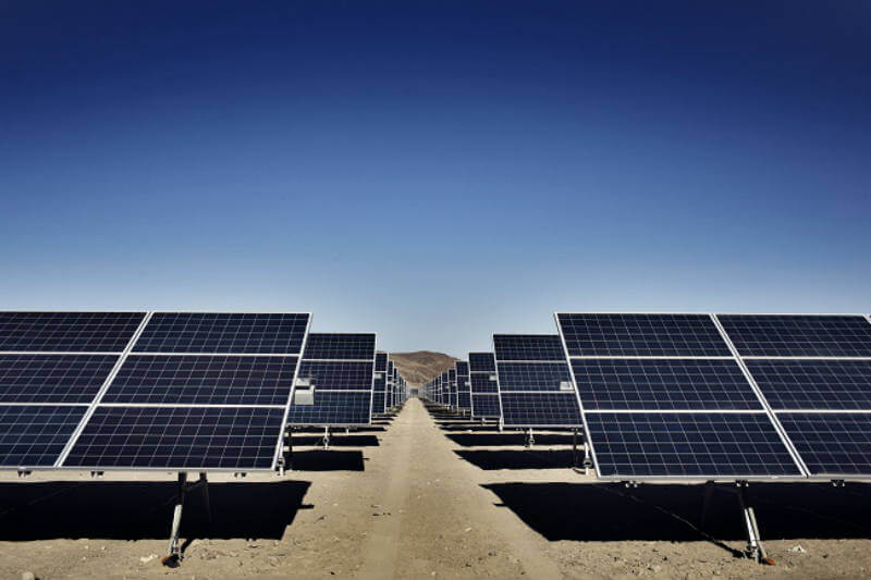 Parque solar en Chile