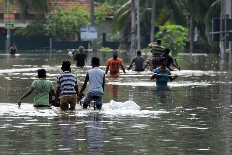 Inundación Sri Lanka