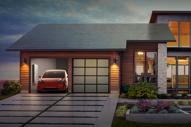 Tesla Techo Solar
