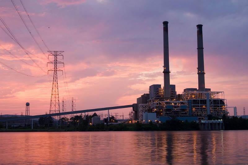 Transformación de planta de carbón por Google