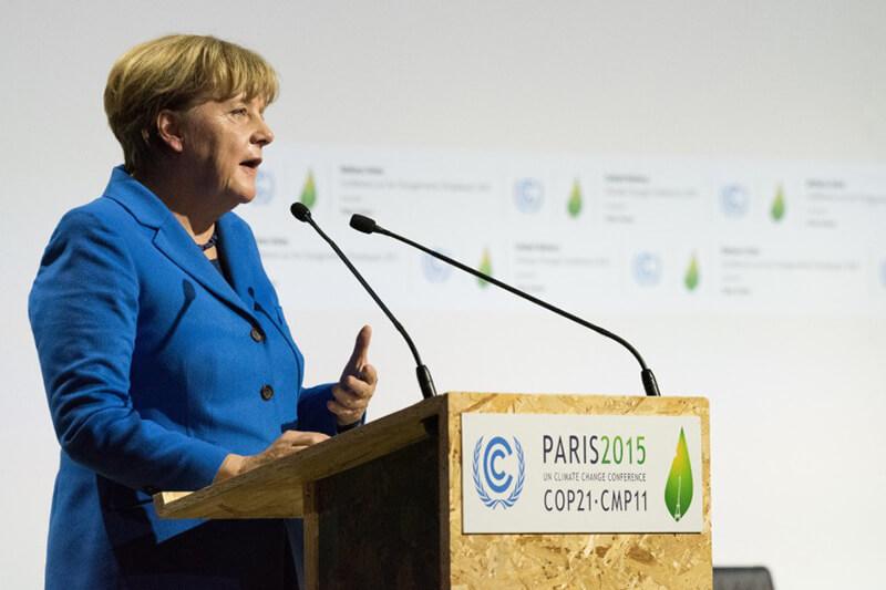 Merkel en COP21