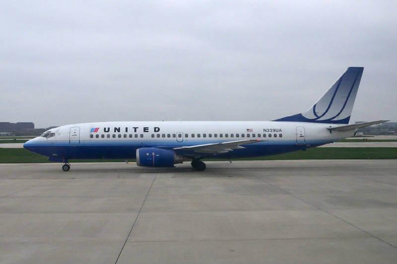 United Airlines utiliza biocombustible