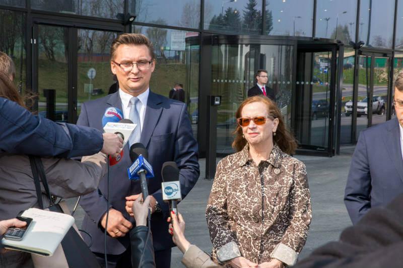 Alcalde de Katowice Marcin Krupa