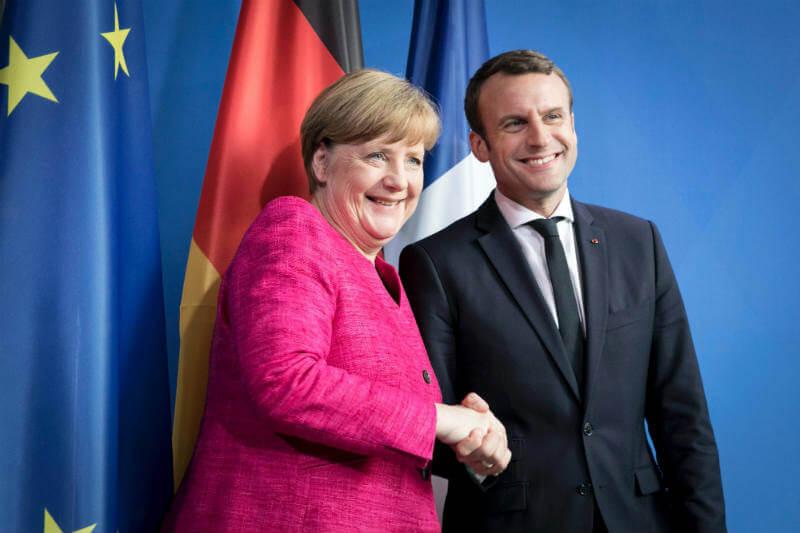 La canciller alemana y otros líderes europeos se preparan para defender el Acuerdo de París en la próxima reunión del G20.