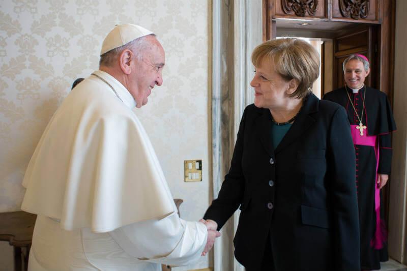 Angela Merkel y el Papa Francisco esperan que en la próxima reunión del G-20 en Alemania se logren acuerdos significativos para mitigar el cambio climático.