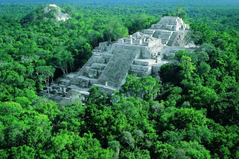 Concesiones comunitarias evitan incendios en la Reserva Maya de la Biosfera en Guatemala.