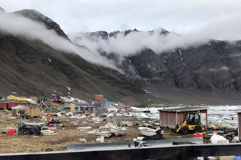 Varios medios y autoridades creen que el terremoto que se sintió antes pudo ser la causa principal de la inundación en Groenlandia.