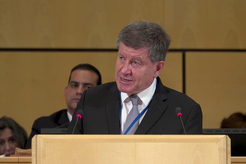 Guy Ryder en la Conferencia Internacional del Trabajo de la OIT aboga por la ecologización de los trabajos