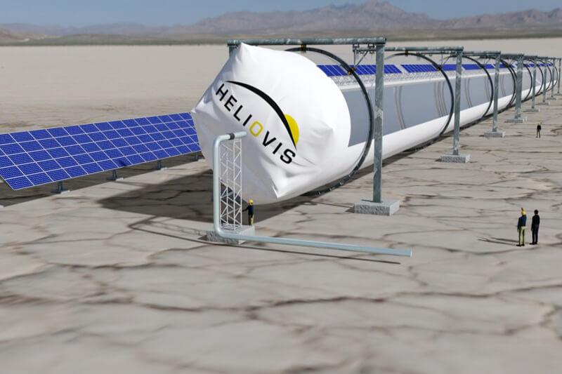 HelioTube el concentrador solar que reduce emisiones de CO2