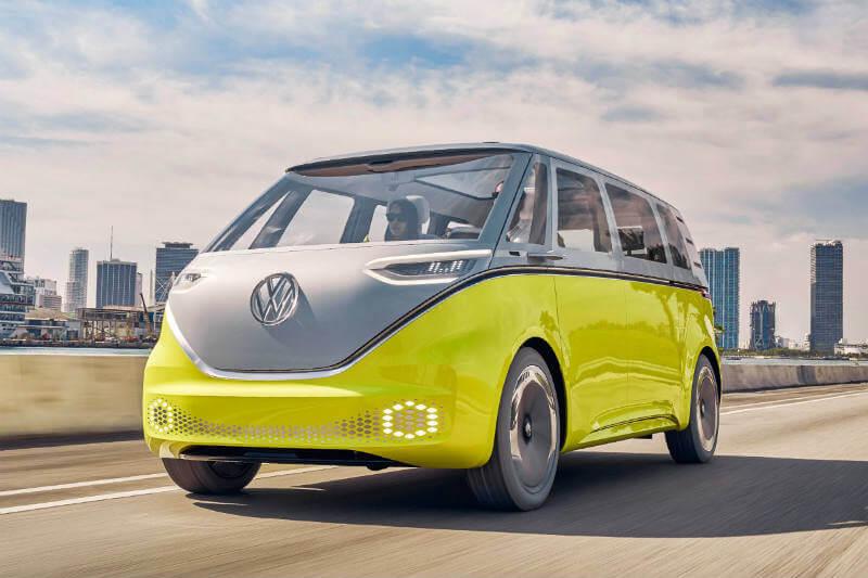El microbús contará con baterías de iones de litio y con el sistema de conducción autónoma.